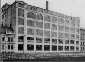 Historical photography of the factory building PEGA-VEL, a.s.