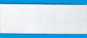 Woven elastic with fold