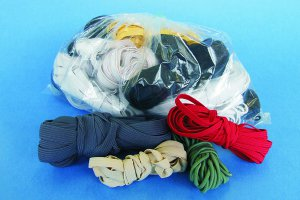 Pack of mixed elastics