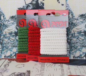 Fancy galloon braid